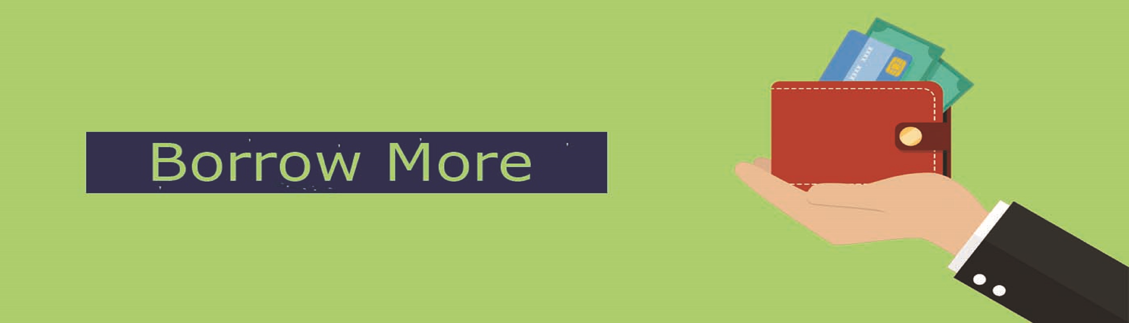 full size Borrow More Website Banner